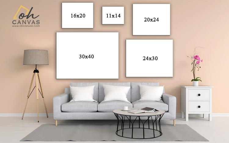 Size Chart Canvas OhCanvas